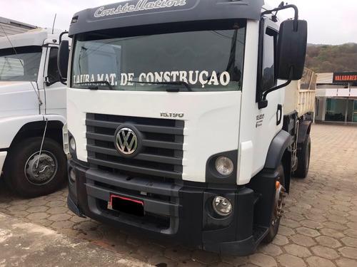 VW 15.190 , TOCO, COM CAÇAMBA , ANO 2013