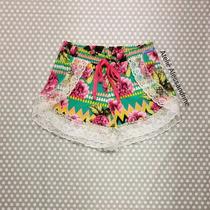 Shortinho Boxer Com Renda Feminino / Bermudinha Shorts Verão