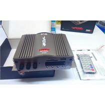 Modulo Amp Para Carro 2 Canais Mp3 Player Usb Rádio Fm