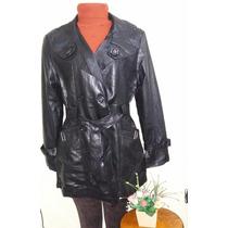 Casaco Feminino/sobretudo/jaqueta/blazer/blusa De Frio Couro