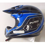 Capacete Motocross Ims Azul Novo Tam L 60