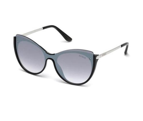 9a525456640a1 Óculos Feminino Guess Gu7569 01c Preto Espelhado Original