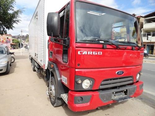 FORD CARGO  816 ANO 2014 BAÚ, COM AR CONDICIONADO.