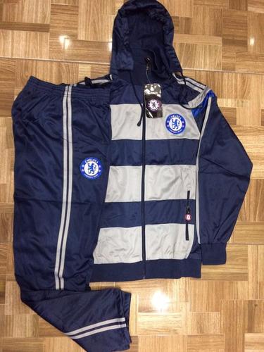 02f00795ae Agasalho Do Chelsea Conjunto Blusa Calça Time Futebol Frio - R  195 ...