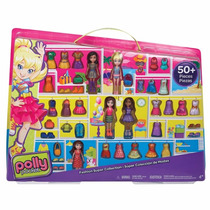Polly Pocket- 5 Polly Amigas Super Fashion + 50 Itens 7937-6