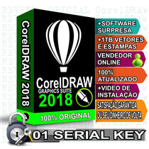 Corel Draw 2018 01 Licença Original Superior À X7 X8 X9 2017