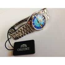 Relógio Automático Aço Orient - Frete Gratis Ref.6q00dl9