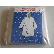 Capa De Chuva Descartável Pacote Com 100 Peças