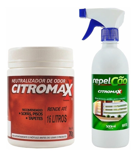 Repel Cães Gatos Spray + Neutraliza Odores Urina Fezes Pet