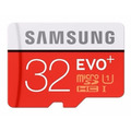 Samsung Micro Sdhc 32gb C10 Evo Plus 80mb/s Galaxy Note 3 4