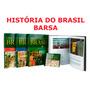 Coleção História Do Brasil Planeta Barsa 4 Livros Cd rom