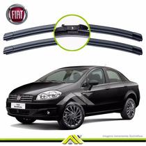 Palheta Limpador Para-brisa Slim Fiat Linea 2008 Em Diante