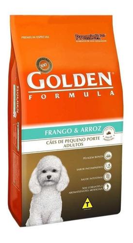 Ração Golden Formula Premium Especial Cachorro Adulto Raça Pequena Frango/arroz 10.1kg