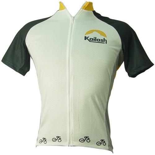 Camiseta Bike Ride Full Branca / preto - Kailash - P
