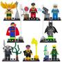 Kit Festa Liga Da Justiça 8 Bonecos Lego Compatível