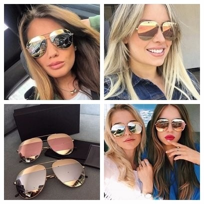 f731e0fc386 Óculos Dior Split Várias Cores Luxo 100% Original Lançamento. Preço  R  700  Veja MercadoLibre