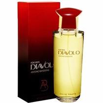 Perfume Diavolo Masculino 100ml 100%original Antonio Bandera