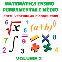Matemática Ensino Fundamental E Médio Para Concursos