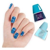 Beleza Acessórios Top Spot Nail Art Azul 1681-2