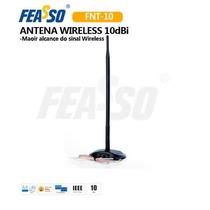 Antena Omni 10 Dbi Com Base - Feasso Fnt10