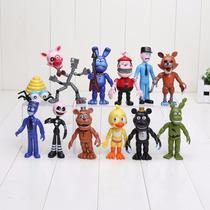 Kit Five Nights At Freddy's 12pçs Pronta Entrega + Pulseira