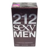 Perfume 212 Sexy Men 30 Ml -original + Amostra.
