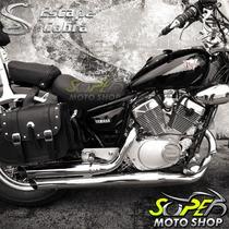 Escapamento Cobra Reto 2.1/2´ Sport Cromo Virago 250 Yamaha