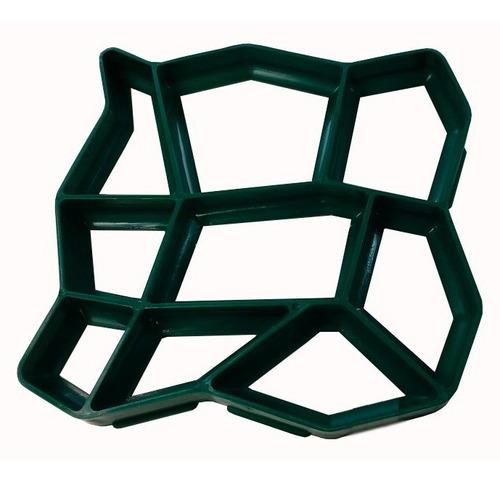 Forma  Piso Jardim  Concreto Easy Piso 50x50x4 2 Pç