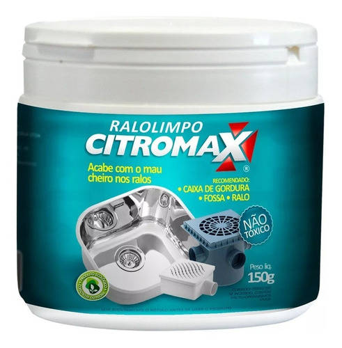 Decompositor De Esgosotos Ralo Limpo Citromax 150g