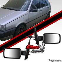 Retrovisor Fiat Tipo 93 /97 Com Controle + Brinde