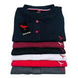 Kit 5 Camisa Polo, Original Algodão Com Nota Fiscal