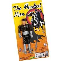 Antigo Boneco Zorro Forte Apache 20cm Altura Chapeu Mascara