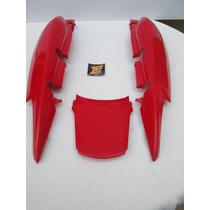 Jogo Rabeta Fan 125 Vermelha (usado)-044817-50