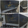 Lona Pvc Caminhão 6x3,5 Anti-chamas Vinil Carreta Encerado