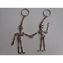 Chaveiro Esqueleto - Caveira - Articulado - Colecionador
