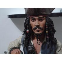 Johnny Deep Jack Sparrow - 1/4 (45 Cm) Com Som - Neca