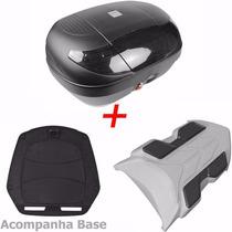 Bau Bauleto Para Moto Xre 300 + Bagageiro Xre 300 45 Lts
