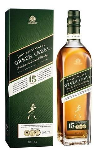 Whisky Johnnie Walker Green Label - 750ml Original