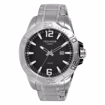 Relógio Masculino Technos 2315abb/1p Legacy 10 Atm De Aço