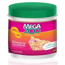 Ração Papa Para Filhotes De Calopsitas Megazoo - 500gr