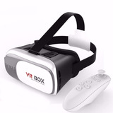 Óculos Vr Box 2.0 Realidade Virtual 3d + Controle- Pronta E