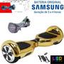 Hoverboard Bluetooth Led Bolsa Controle Bateria Samsung