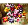 Flor De Fuxico 10 Unidades