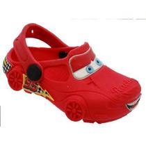 Promoção De Sandália Infantil Crocs Carros Mcqueen Disney!!
