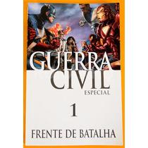 Guerra Civil Especial N° 1 - Frente De Batalha Marvel Rnhq
