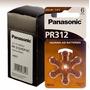 Baterias Panasonic Tamanho 312 Aparelho Auditivo
