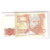 Espanha Cédula De 200 Pesetas, 1980, S/fe P.156