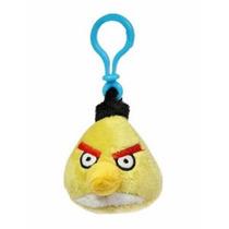 Angry Birds - Chaveiro De Pelúcia - Yellow Bird Chuck Toyng