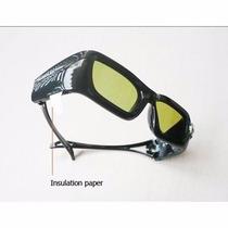 Óculos 3d Dlp Link P/ Projetores,alta Qualidade,com Bateria