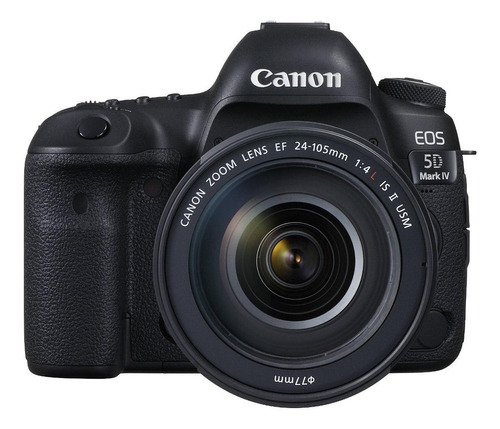 Canon  Eos 5d Mark Iv 24-105mm Is Ii Usm Kit Dslr Preta